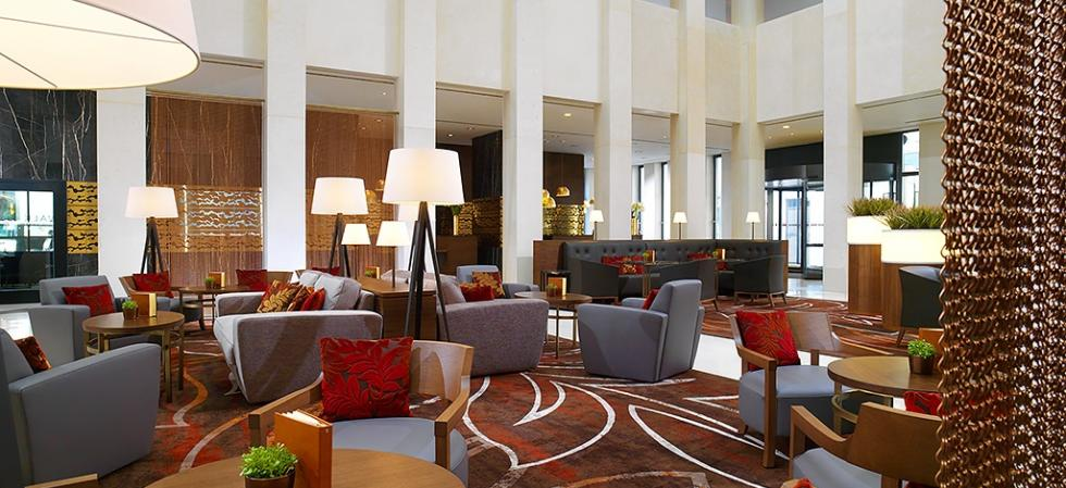 Berlin Marriott Hotel, Lobby