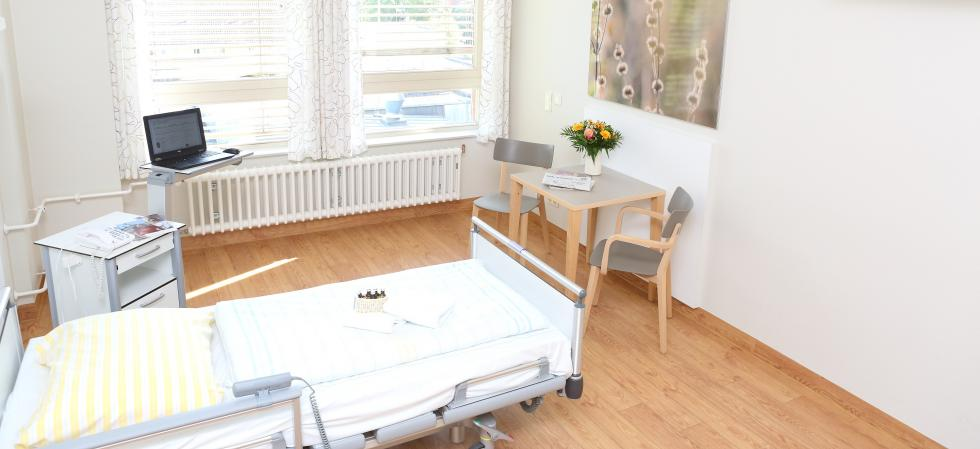 Elisabeth Protestant Hospital, Patient room