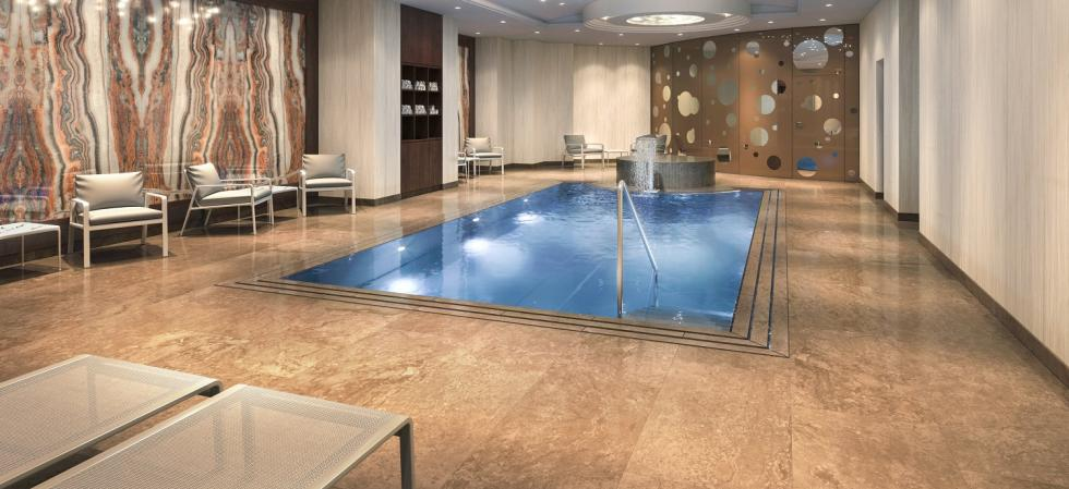 The Ritz-Carlton, Berlin, pool area