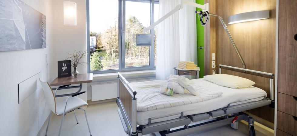 patients room Immanuel Klinik Rüdersdorf