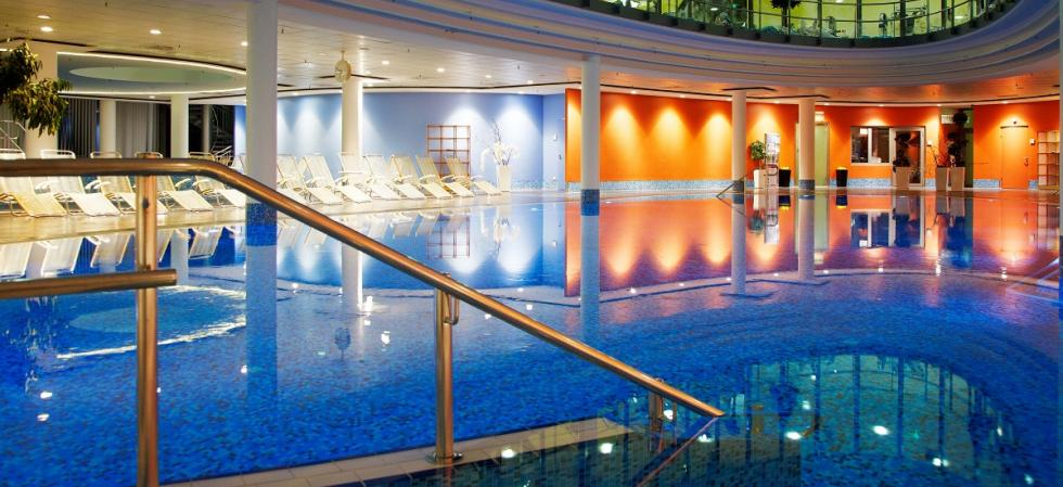 SPA and pool at centrovital Hotel Berlin