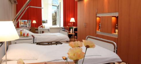 Klinik Schöneberg, patients room