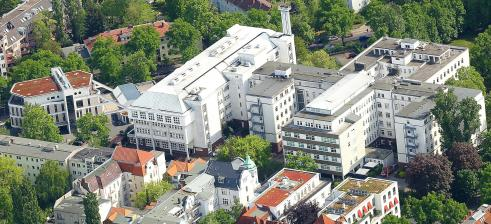 Martin Luther Hospital, Aerial View