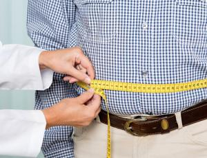 stomach measure overweight